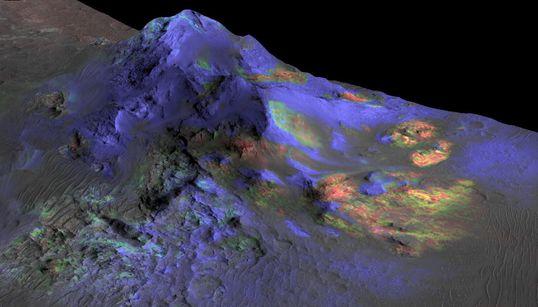 화성에서 유리가