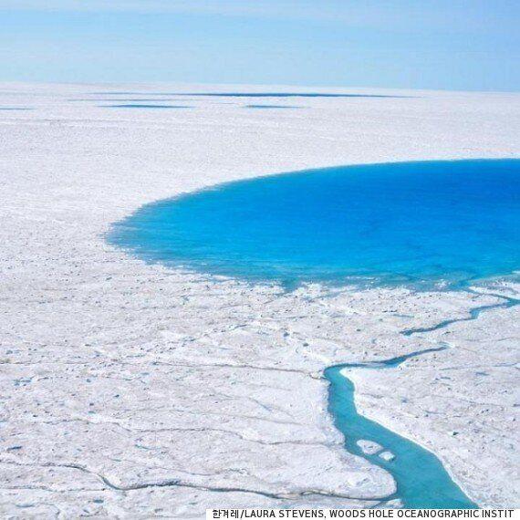 하룻밤 새 사라지는 5천만 톤 호숫물의 비밀이
