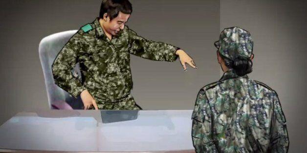'부하 여군 성폭행 혐의' 前 여단장, 1심