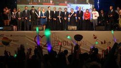 퀴어문화축제 개막식에 16개국 대사관이 참석해 성소수자 권리를