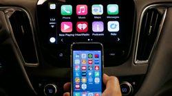 국내 최초로 애플 카플레이를 탑재한 차가