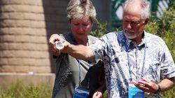 남편을 그리워하던 미국여성의 유골이 낙동강에 뿌려진