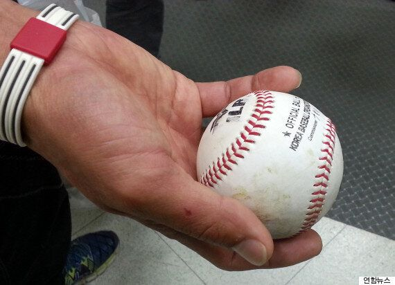 이승엽 400호 홈런볼 잡은 주인공