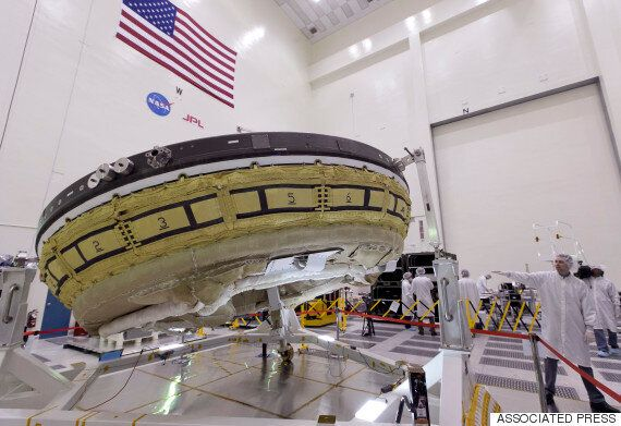 NASA, 화성탐사용 비행접시