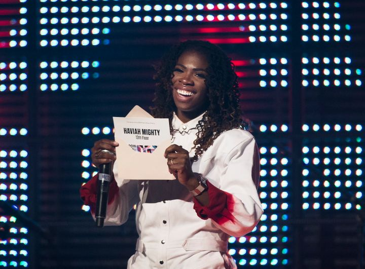 Haviah Mighty wins the 2019 Polaris Music Prize in Toronto on Monday. The rapper says this is one of the rare times she's been recognized for her music.