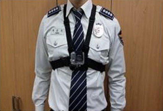 경찰, 몸에 다는 블랙박스 '바디캠'