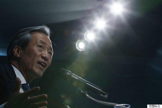 정몽준, FIFA 회장 선거 출마