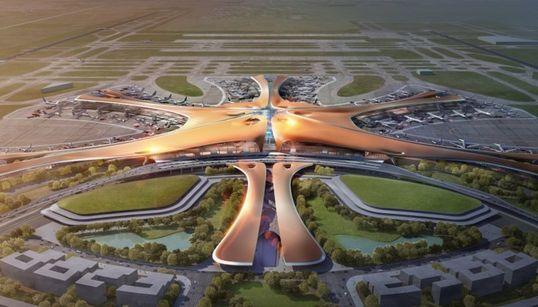 자하 하디드가 설계한 세계 최대 베이징
