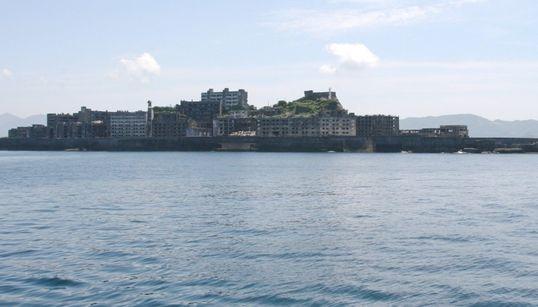 문화 유산 지정 논란 일본 '군함 섬'에 가다(사진,