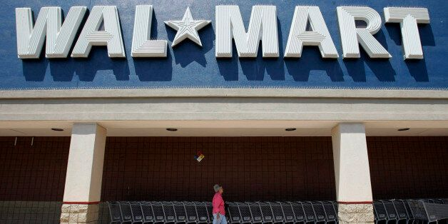 *** FILE *** Exterior of Walmart in San Jose, Calif., Wednesday, Aug. 13, 2008. Wall Street received...