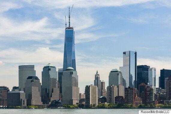 뉴욕의 '원 월드트레이드타워'가 지어지는 과정을 타임랩스 동영상으로