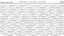 공저자가 5154명인 논문이 나타났다