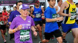 여성 최고령 마라톤 신기록이