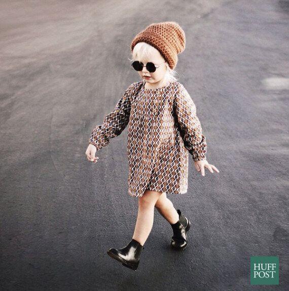 3살 짜리 패셔니스타 '릴리'는 당신보다 더 많은 인스타그램 팔로워를 갖고