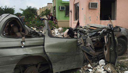 멕시코 강타한 토네이도 : 13명 사망 (사진,