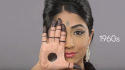 인도 여성의 스타일