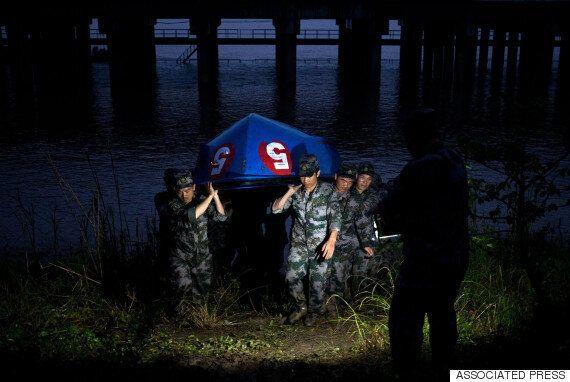 [현장] 양쯔강 침몰: 3명이 추가로