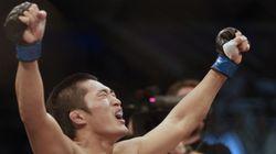 UFC 김동현, '매미권'으로 버크먼을