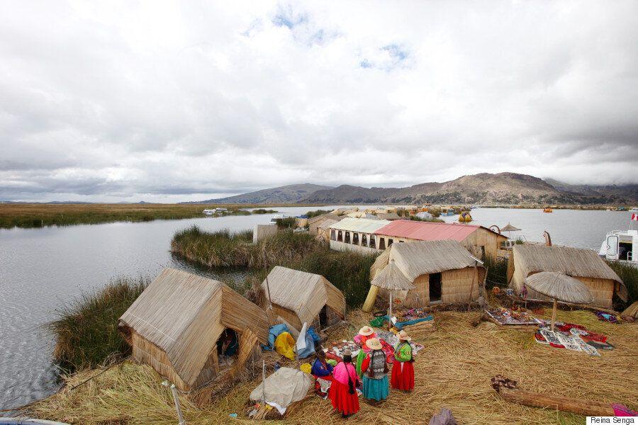 세상의 얼굴들|티티카카 호수의 우로스 섬과 타킬레
