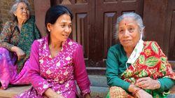 두 번의 네팔 대지진에서 살아남은 슈레스타 할머니, 그리고 네팔의