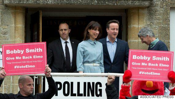 영국 총선 출구조사 결과 - 보수당 재집권 성공