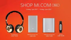 샤오미 미국·유럽 온라인 판매
