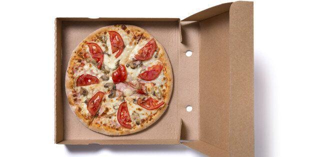 피자 박스를 재활용으로 버려도