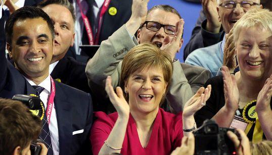 스코틀랜드독립당 돌풍 : 영국 제3당