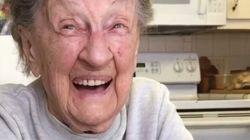 102살 생일을 맞은 할머니에게 일어난