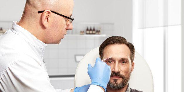 Clinic of Aesthetic Medicine. Procedure for