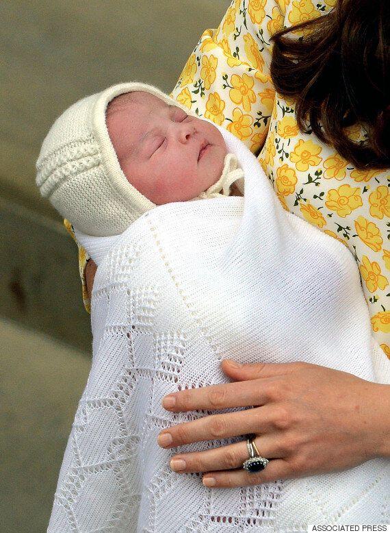 영국 새 공주 이름은 '샬럿 엘리자베스