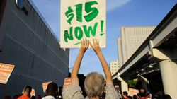 미국 최저임금 인상 확산 : 시간당