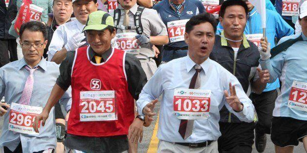 회사 지시로 '10km 마라톤' 뛰고 숨진 회사원