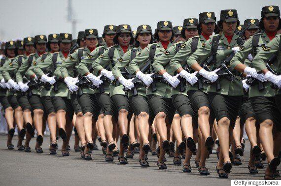 인도네시아, 여군 입대할 때 '처녀막'
