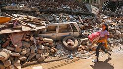 네팔 규모 7.4 강진 또 발생, 최소 19명 사망·981명