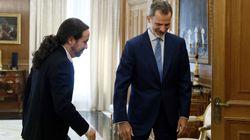 Pablo Iglesias desvela cómo ha empezado su conversación con el rey: no es lo que se