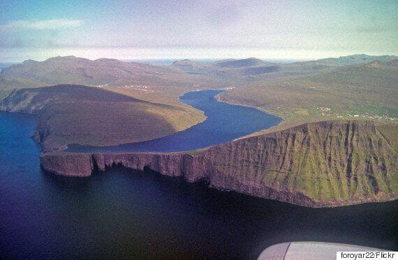 착시현상이 쇠르보그스바튼 호수를 더욱 놀라운 장관으로
