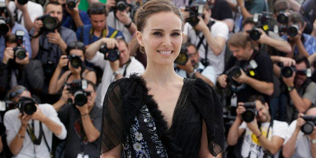 Director and actor Natalie Portman poses for photographers during a photo call for the film A Tale of...