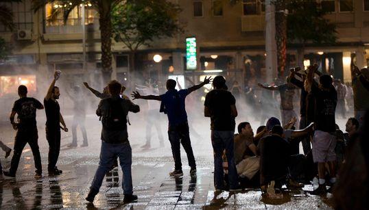 이스라엘판 볼티모어? 경찰 흑인 폭행 영상