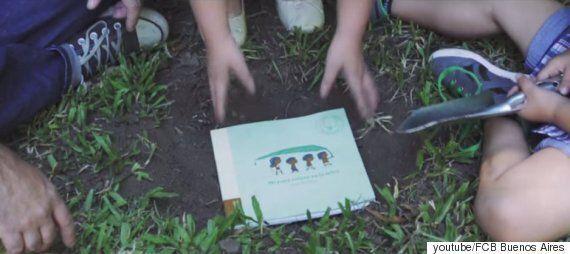읽고 난 후, 땅에 심어서 나무로 키울 수 있는