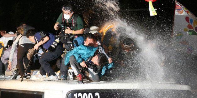 경찰, 중동에 '물대포' 수출