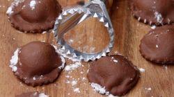인생은 아름답다. 바로 이 '초콜릿 파스타'