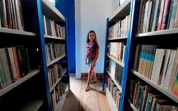 공공도서관을 짓고 싶다는 소녀의 꿈을 이뤄준 브라질 사람들(사진,