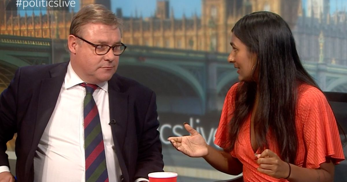 Brexiteer Tory Mark Francois And Pro-Corbyn Commentator Ash Sarkar Clash Over Brexit Mandate