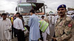 파키스탄 탈레반, 총기 난사로 최소 34명 사망(사진,