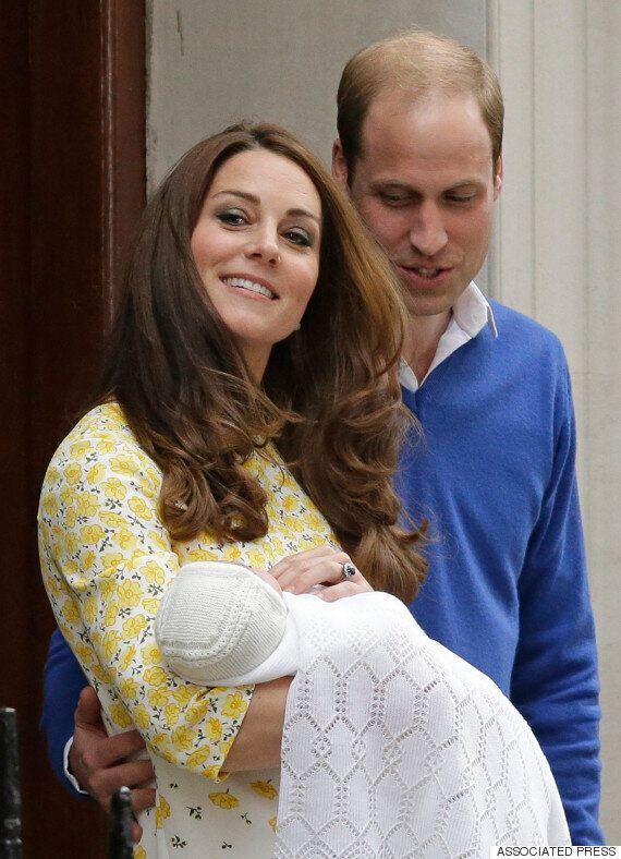 공주 낳은 영국 왕세손빈 케이트 미들턴, 3일 뒤 공주 이름 발표할 것으로