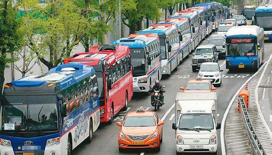 이번엔 '관광버스