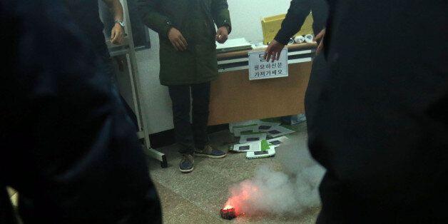 신은미콘서트서 폭발물 던진 10대