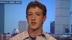 11년전, 페이스북에 대해 설명하는 저커버그