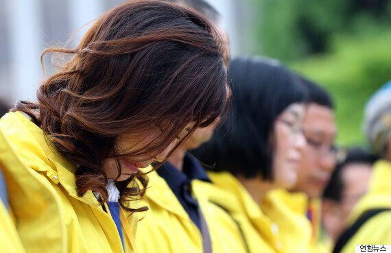 재판장도, 유가족도 눈물 흘린 세월호